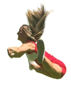 Toe Touch Jump from the Side